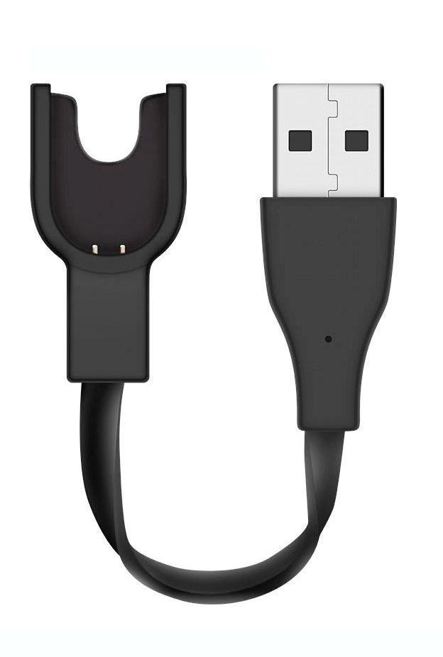 Зарядное устройство Nuobi для Xiaomi Mi Band 2, Черный