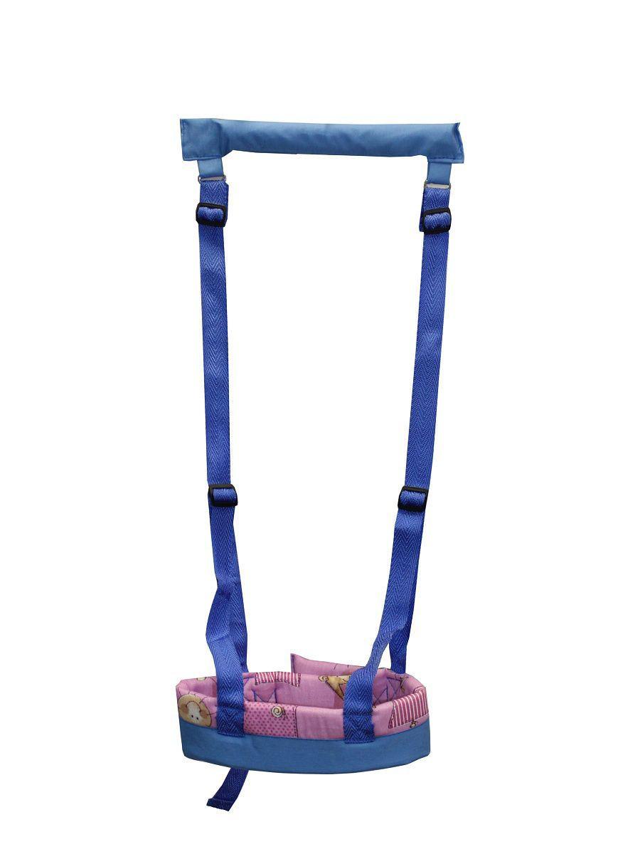 Вожжи Baby BUM №2, цвет сине-розовый