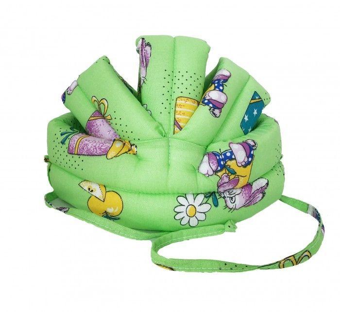 Противоударная шапка-шлем Baby Bum №2 (зеленый)