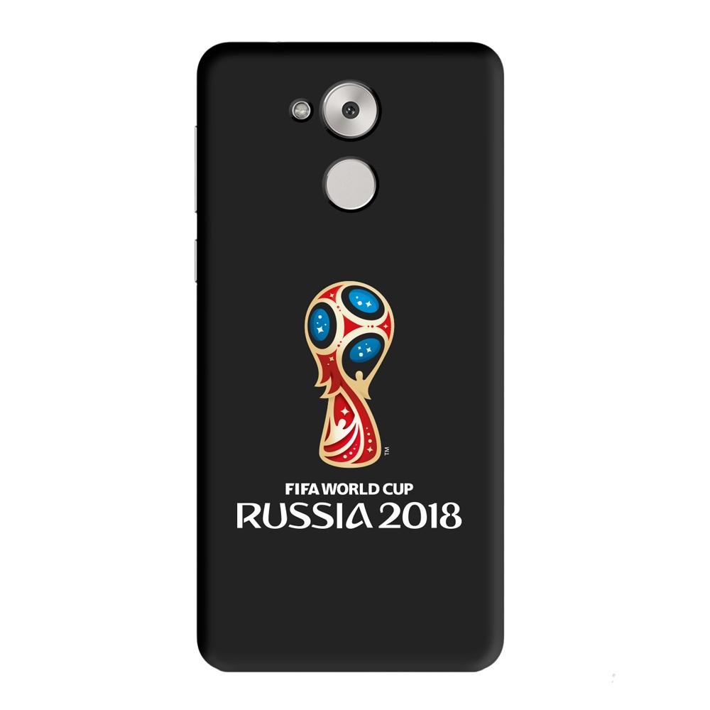 Чехол PC для Huawei Honor 6C Pro, FIFA Official Emblem, Deppa чехол fifa 2018 official emblem white для samsung a5