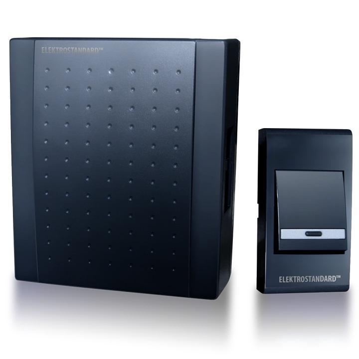 DBQ16 WM 1M IP44 /звонок электрический бытовой (дверной)  / Черный Elektrostandard
