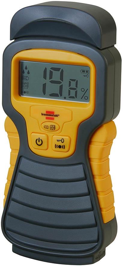 1298680 Brennenstuhl влагомер для измерения влажности в строительных материалах влагомер kwb 0121 00 древесина стройматериалы
