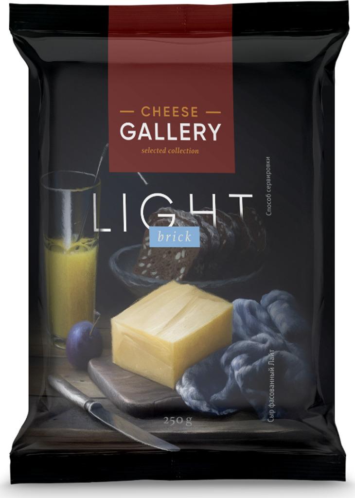 все цены на Cheese Gallery Сыр Лайт, 20%, 250 г онлайн