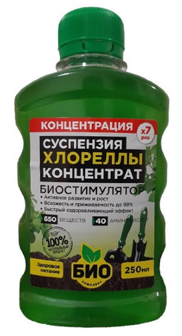 Суспензия хлореллы Био-комплекс Концентрат 0,25л