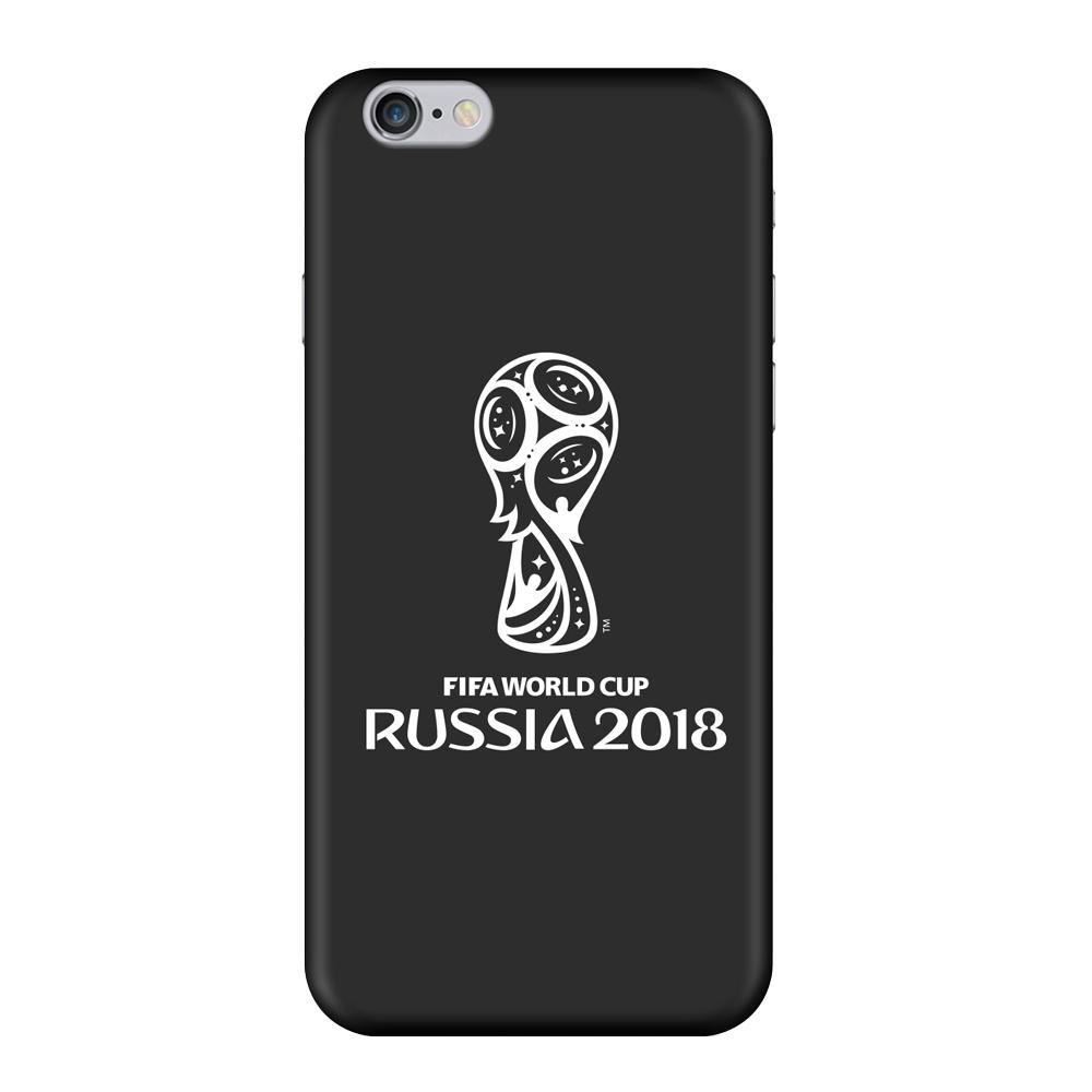Чехол TPU для Apple iPhone 6/6S, FIFA Official Emblem white, Deppa чехол fifa 2018 official emblem white для samsung a5