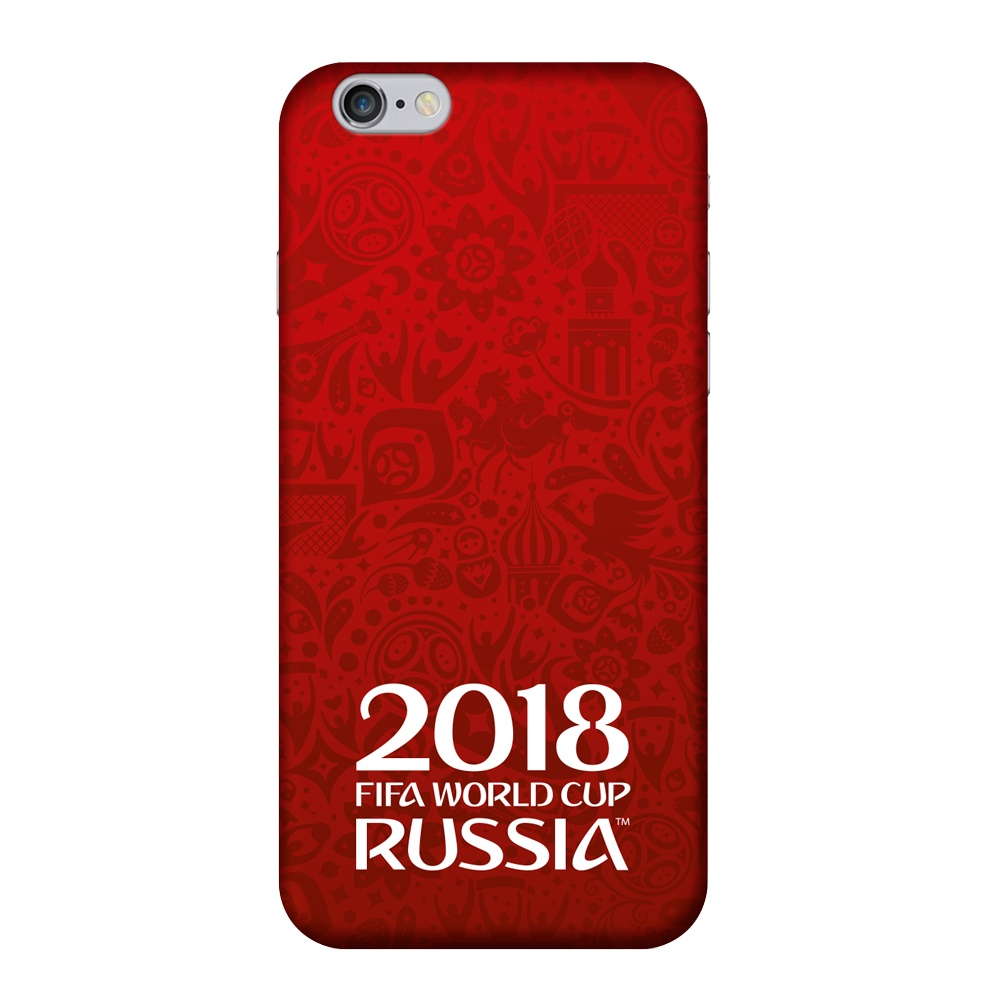 Чехол TPU для Apple iPhone 6/6S, FIFA Official Logotype red, Deppa цена и фото