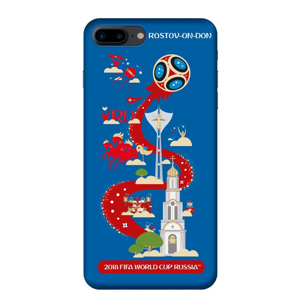 Чехол TPU для Apple iPhone 7/8 Plus, FIFA Rostov-on-Don, Deppa клип кейс deppa fifa для apple iphone 8 plus 7 plus official emblem черный