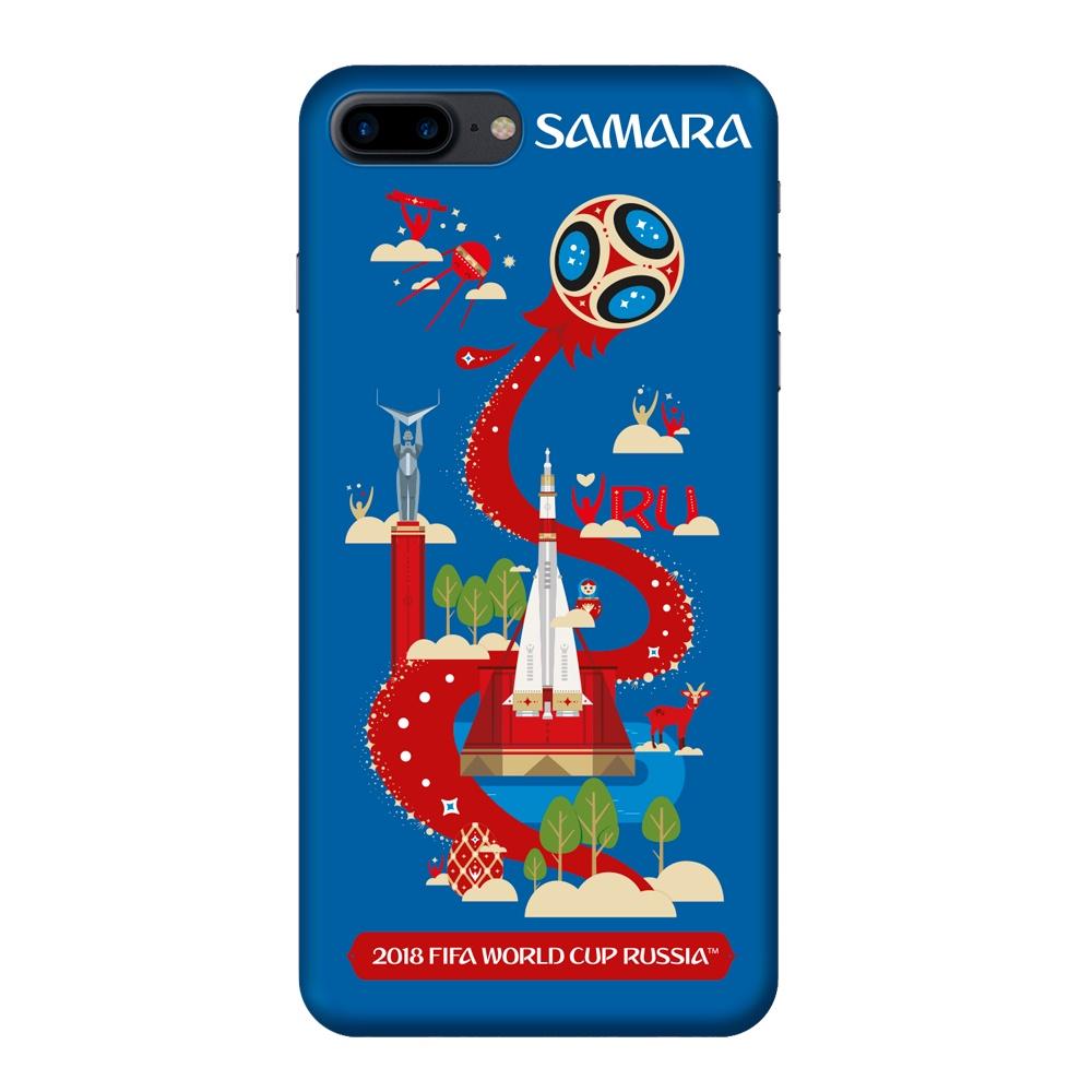 Чехол TPU для Apple iPhone 7/8 Plus, FIFA Samara, Deppa клип кейс deppa fifa для apple iphone 8 plus 7 plus official emblem черный
