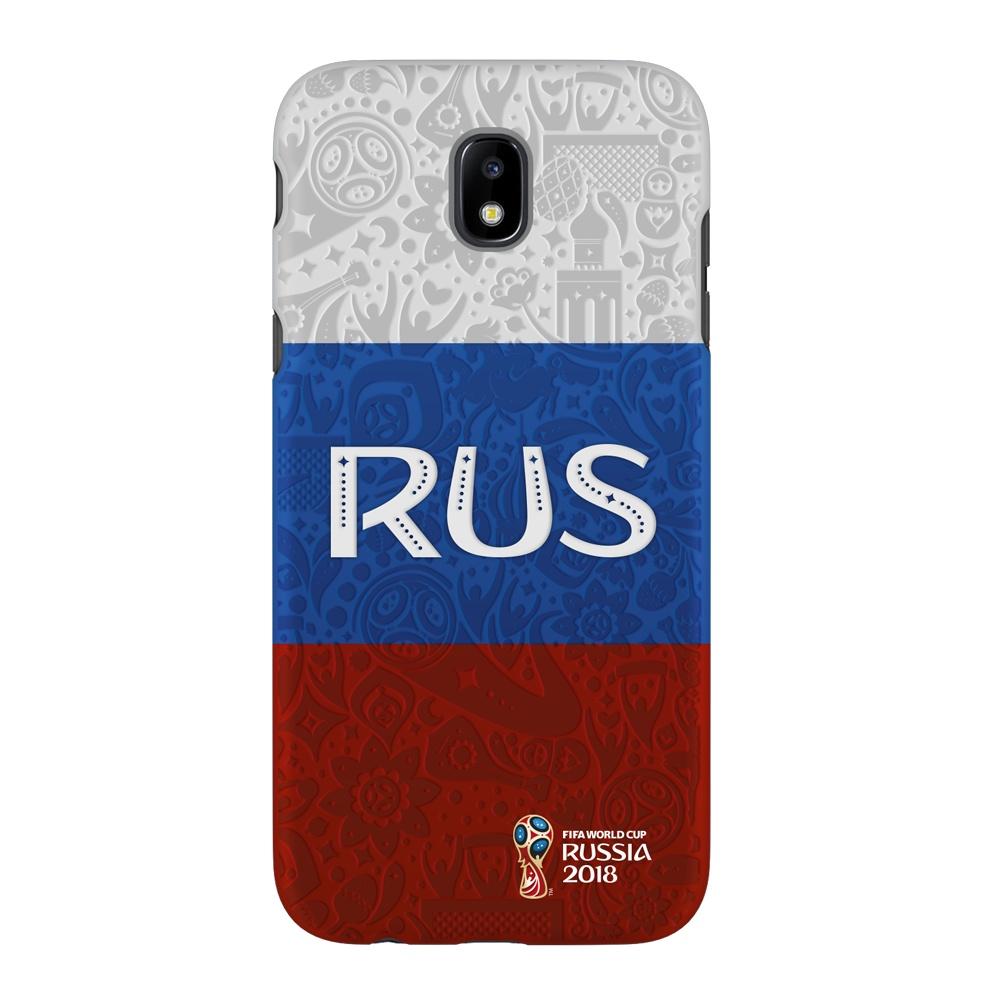 Чехол PC для Samsung Galaxy J5(2017), FIFA Flag Russia, Deppa samsung pc