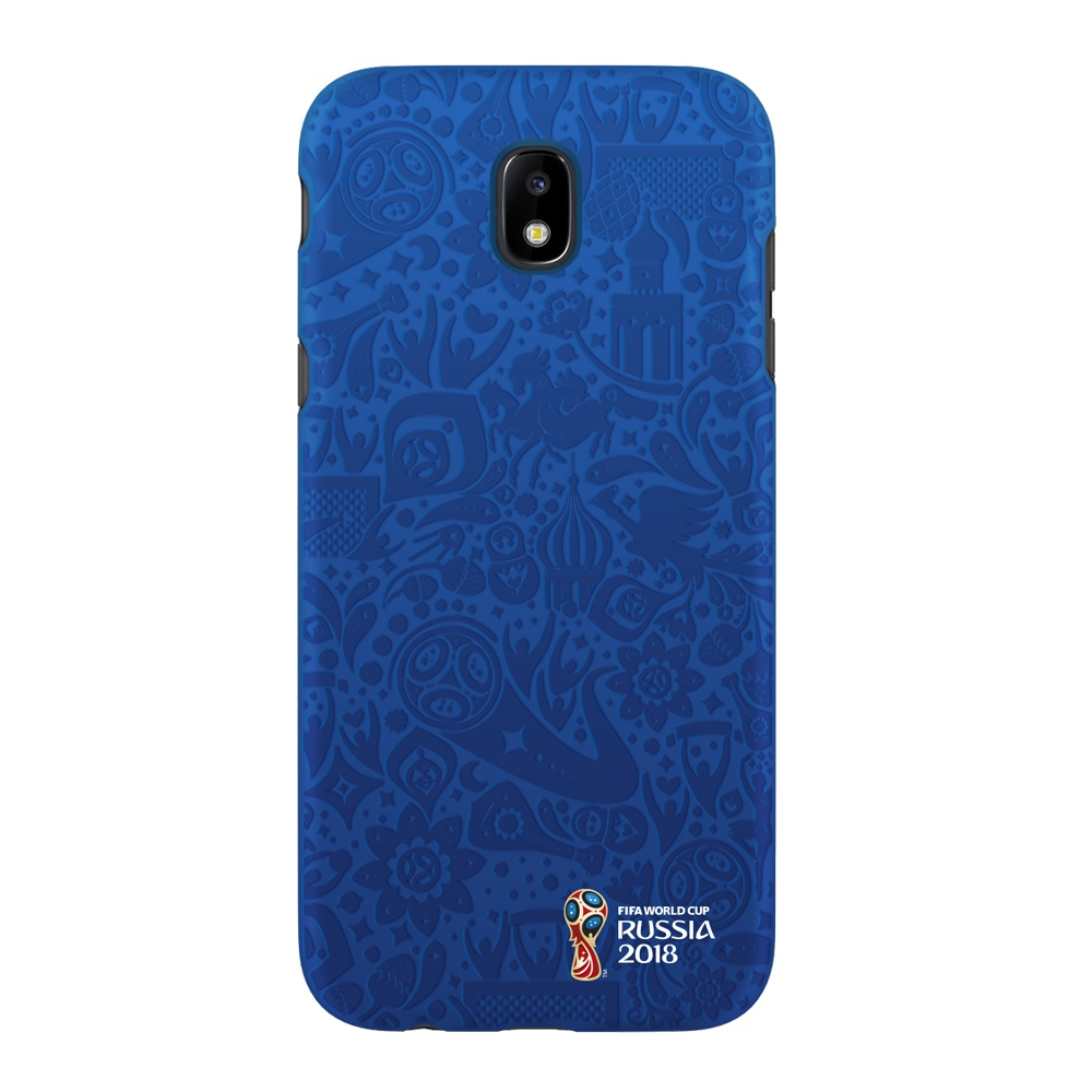 Чехол PC для Samsung Galaxy J5(2017), FIFA Official Pattern blue, Deppa чехол fifa 2018 official emblem white для samsung a5