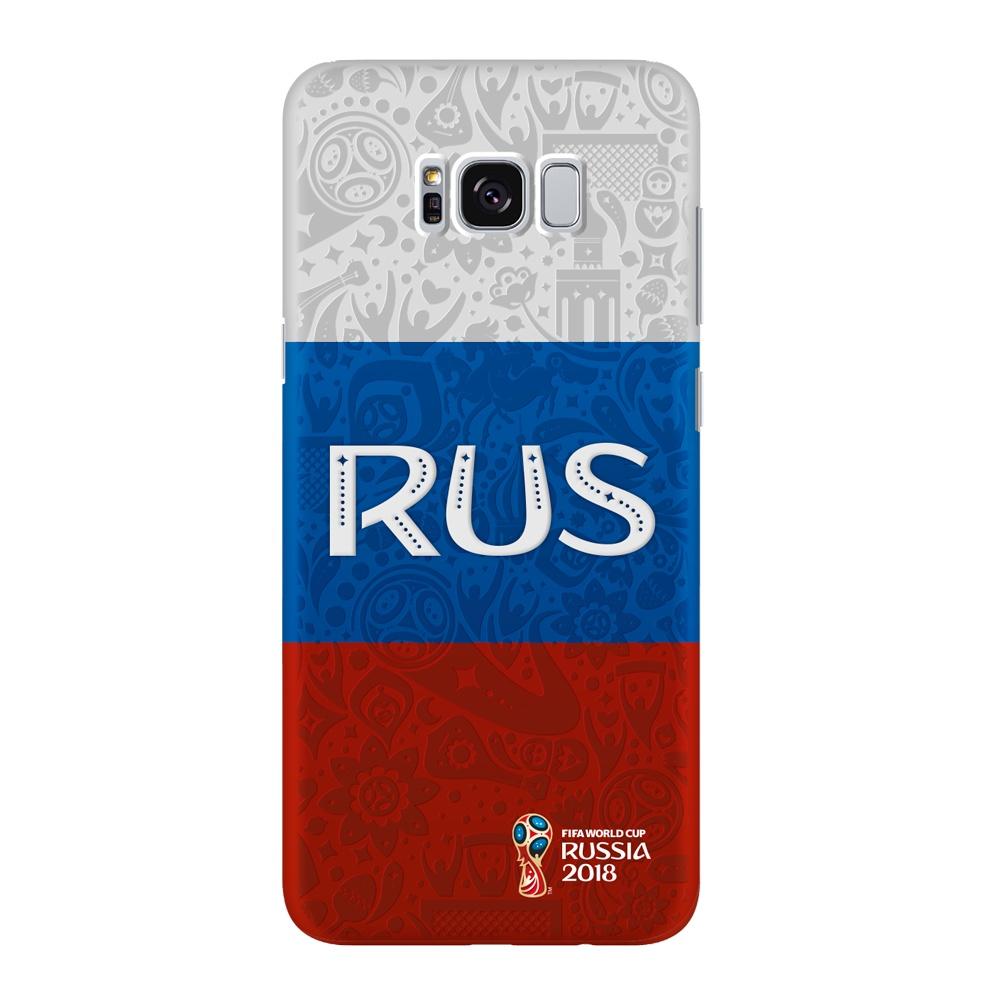Чехол PC для Samsung Galaxy S8+, FIFA Flag Russia, Deppa samsung pc