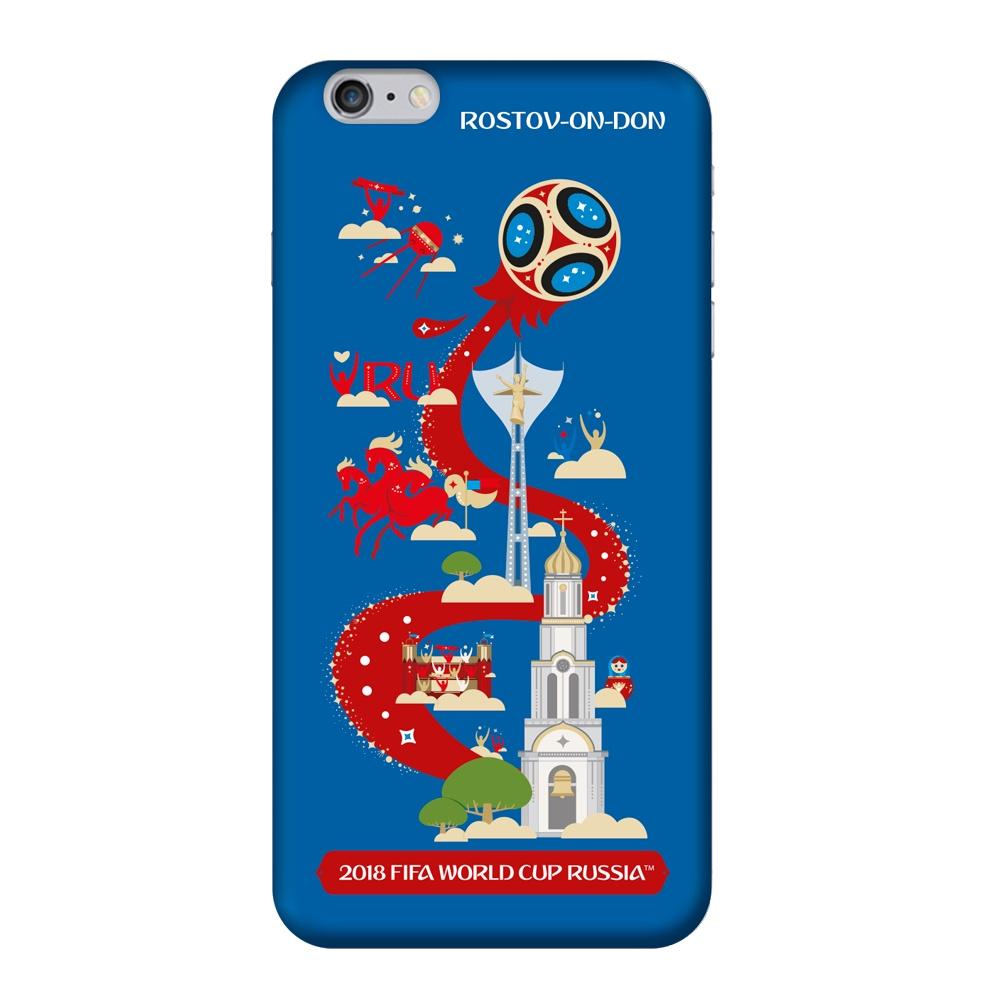 Чехол TPU для Apple iPhone 6/6S Plus, FIFA Rostov-on-Don, Deppa чехол fifa 2018 rostov on don для iphone 6 6s