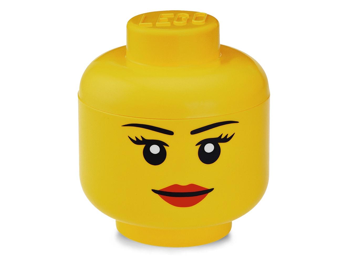 Система хранения голова Girl LEGO