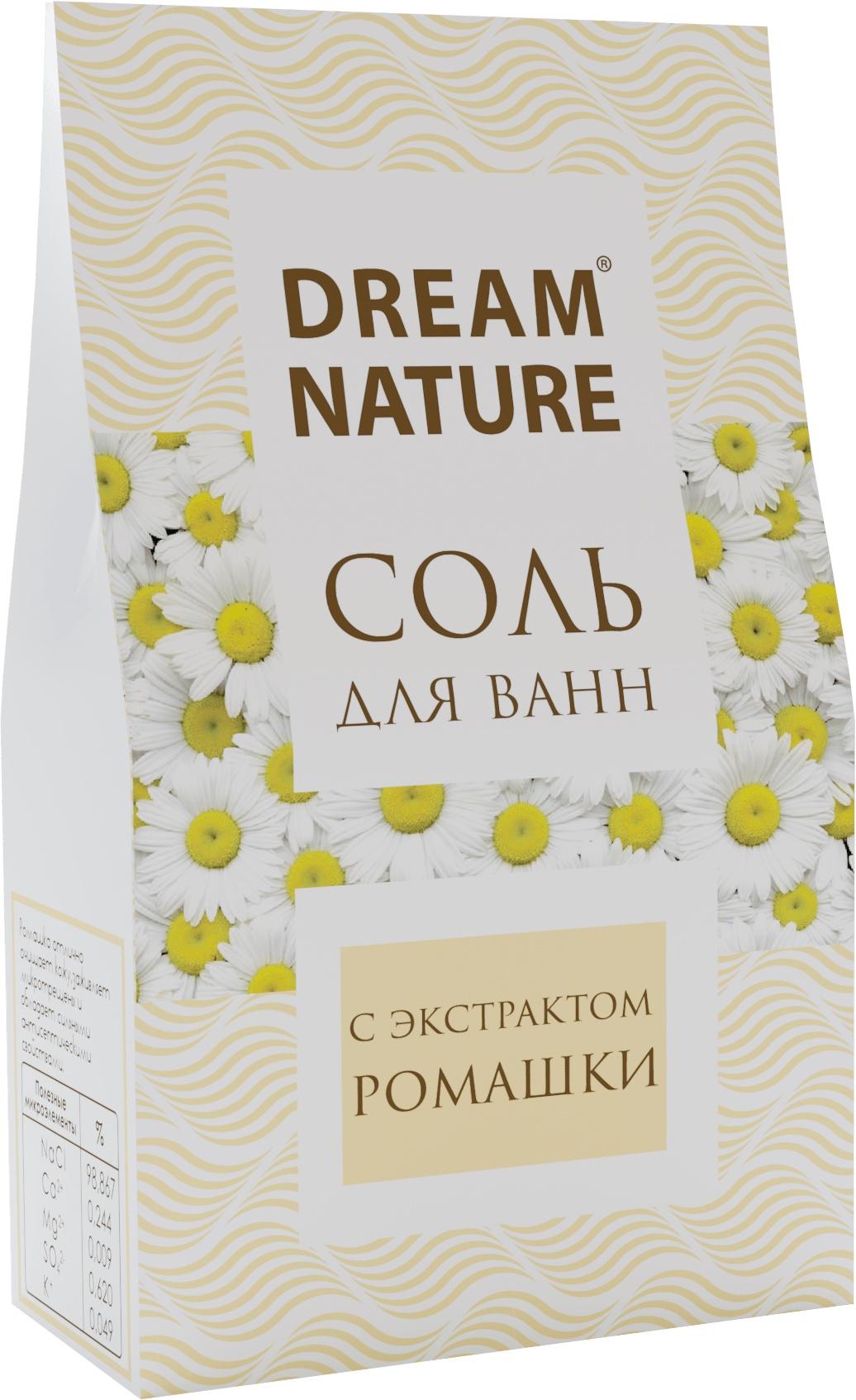 Природная  соль для ванн Dream Nature