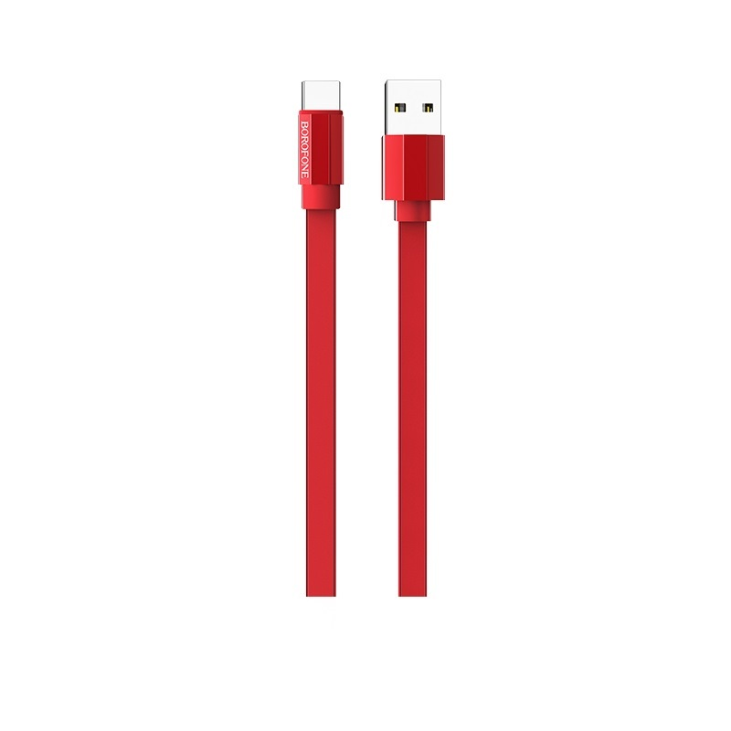 Кабель Borofone BU8 Glory charging data cable for Type-C Red