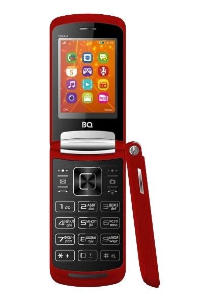 Мобильный телефон BQ-2405 Dream Red мобильный телефон bq 2429 touch черный 2 4 32 мб bluetooth