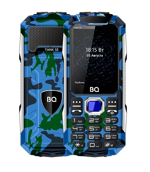 Мобильный телефон BQ-2432 TANK SE Camouflage мобильный телефон bq 1842 tank mini dark blue
