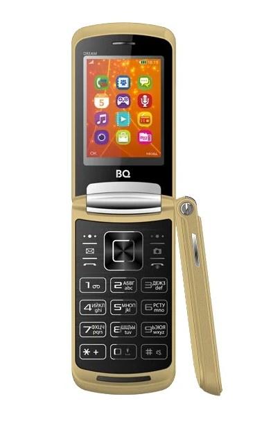 Мобильный телефон BQ-2405 Dream Gold мобильный телефон bq 1845 one черный