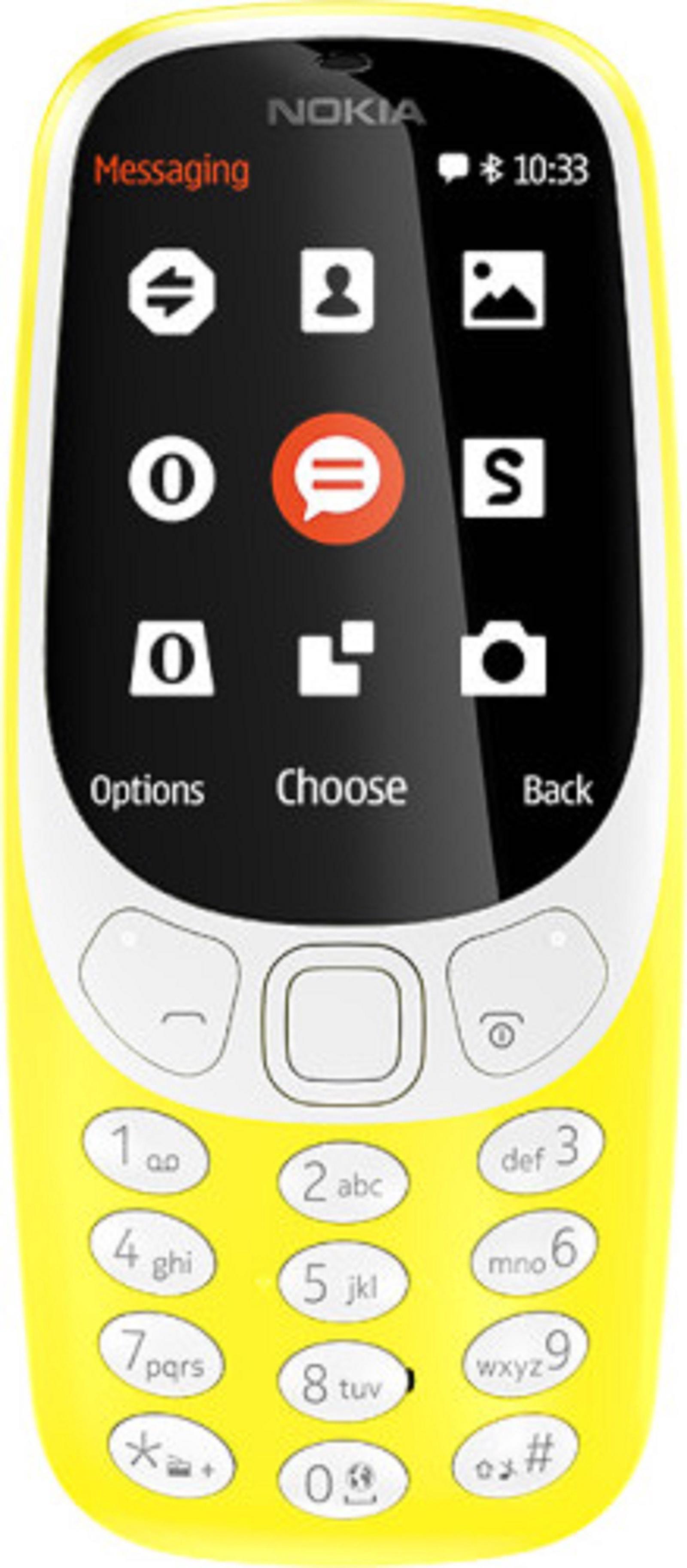 Мобильный телефон Nokia 3310 DS Yellow цена и фото