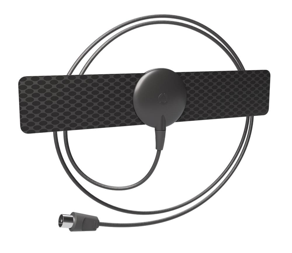 Антенна РЭМО BAS-5110-P BLACK антенна для цифрового тв триколор uhd европа с модулем условного доступа