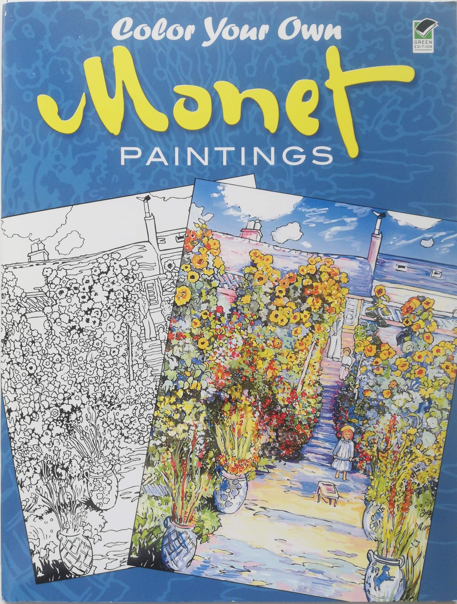 Claude Monet, Marty Noble Color Your Own Monet Paintings monet in giverny landscapes of reflection