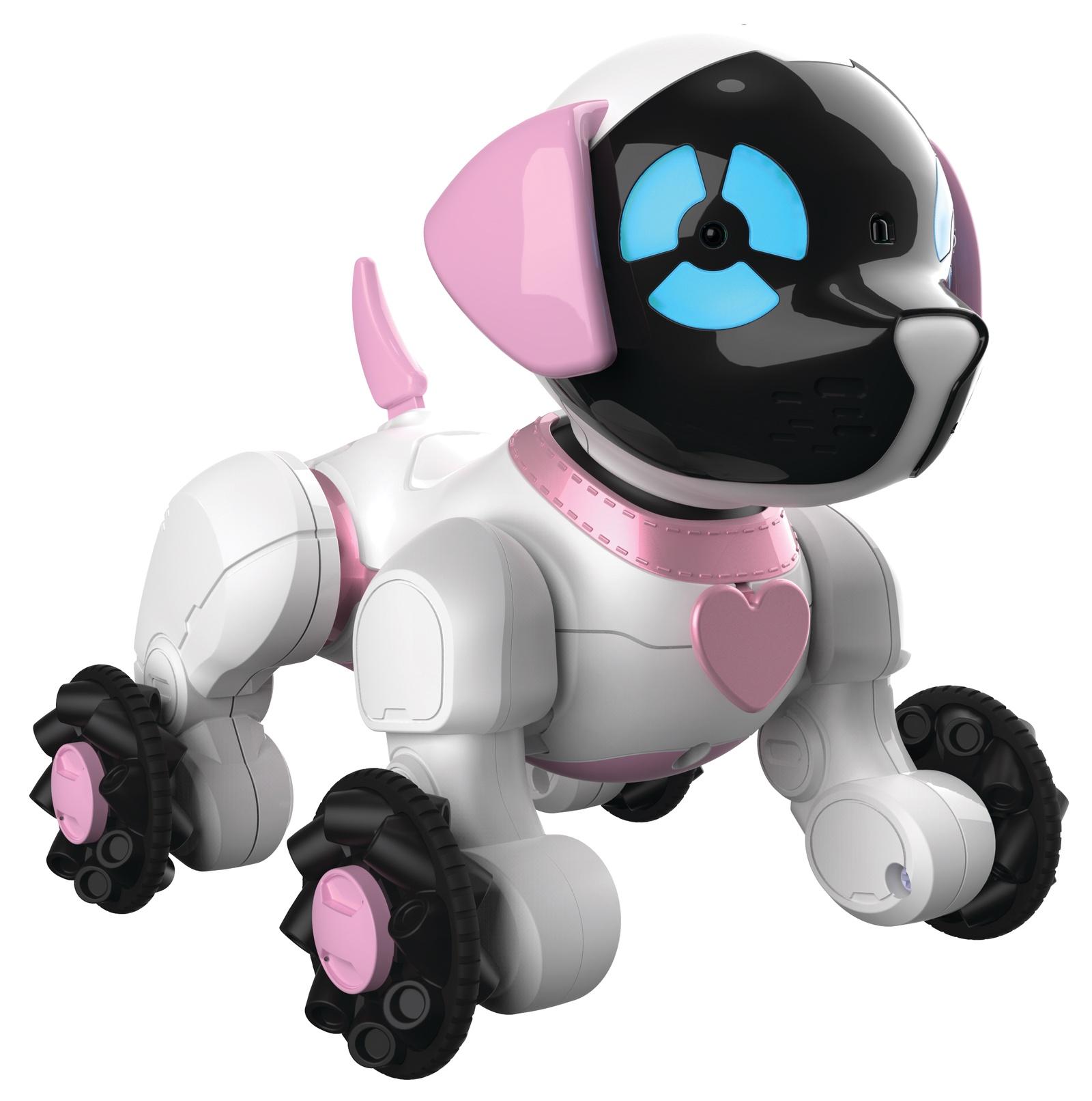 WowWee Интерактивная игрушка Собачка Чиппи цвет белый