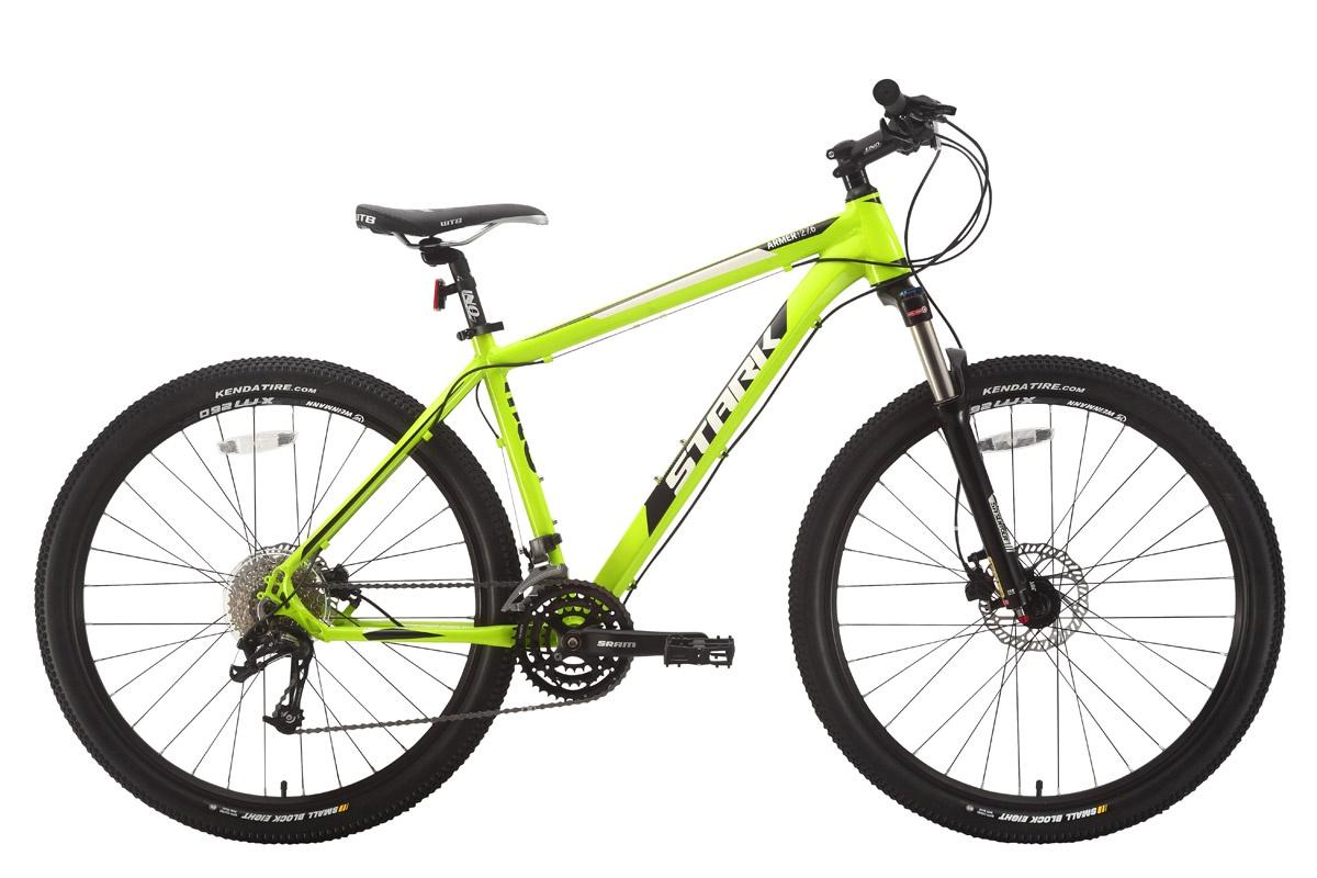 Велосипед STARK Armer 27.6 HD 2018 18 зелёный/чёрный/белый