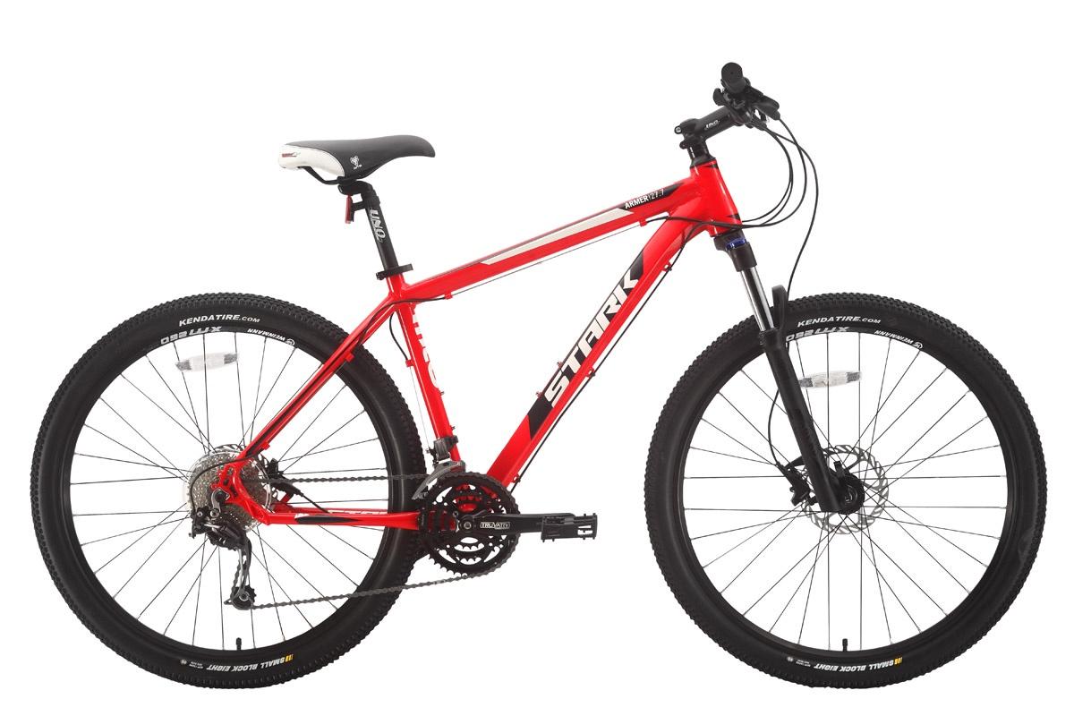 Велосипед STARK Armer 27.7 HD 2018 18 красный/чёрный/белый