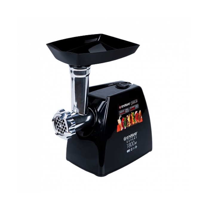 Мясорубка Endever Мощность при блокировке -1800 Вт. производительность до 2,2 кг/мин.