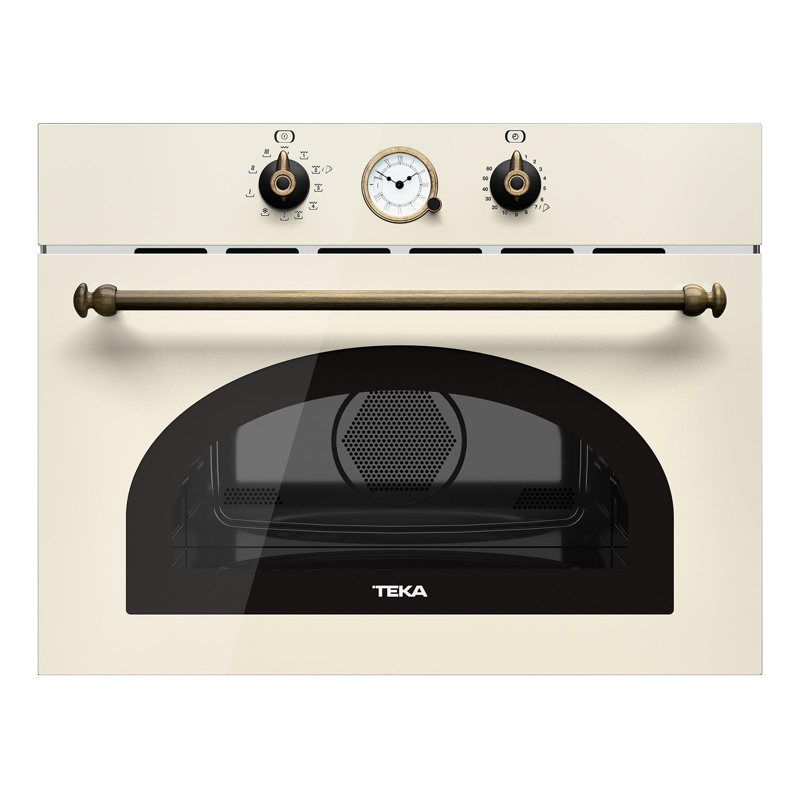 Микроволновая печь TEKA MWR 32 BIA VB ваниль с аналоговыми часами