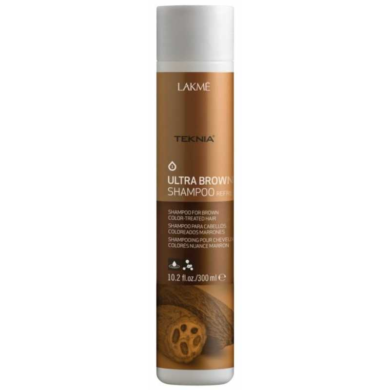 Шампунь Lakme Teknia Ultra Brown Shampoo 300 мл 47023
