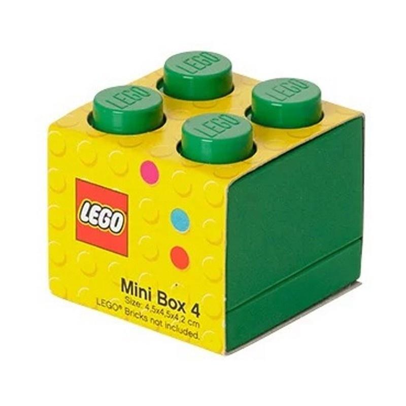 Система хранения 4 зеленый мини LEGO