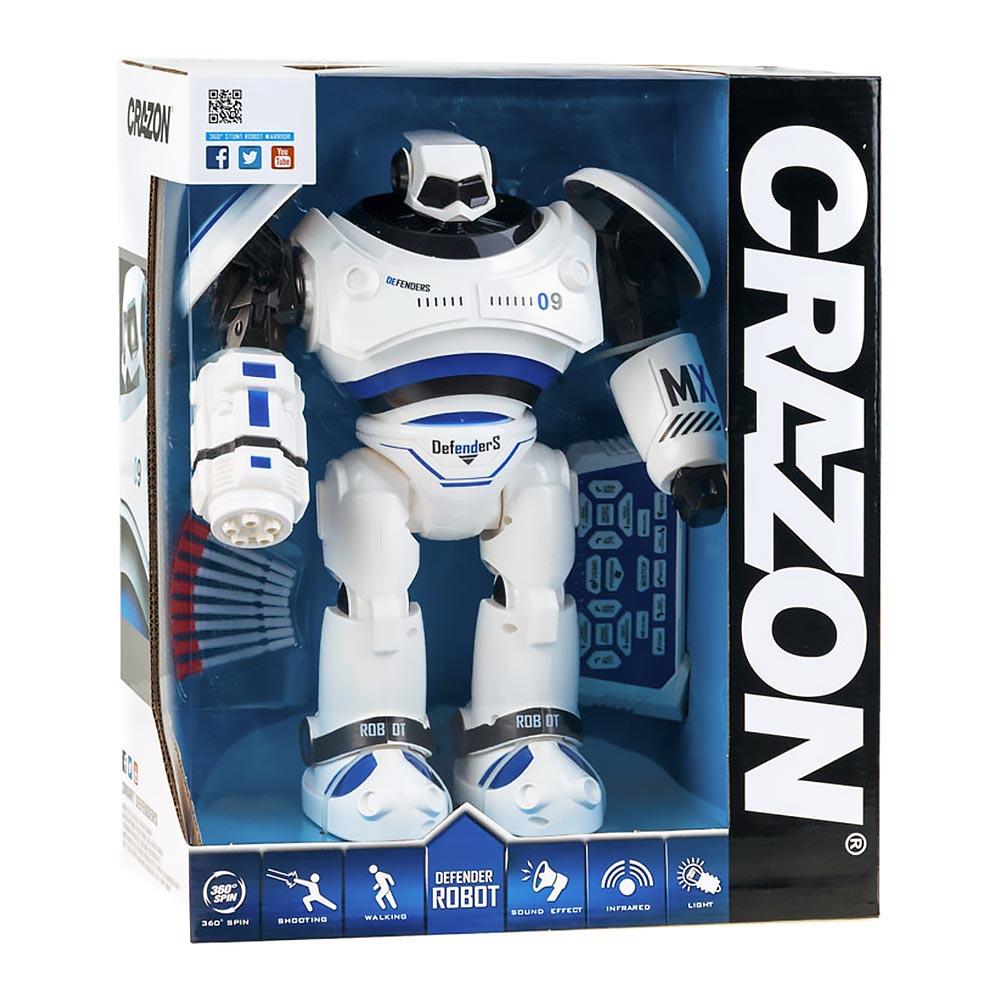 Робот Чемпион, радиоуправляемый, голубой