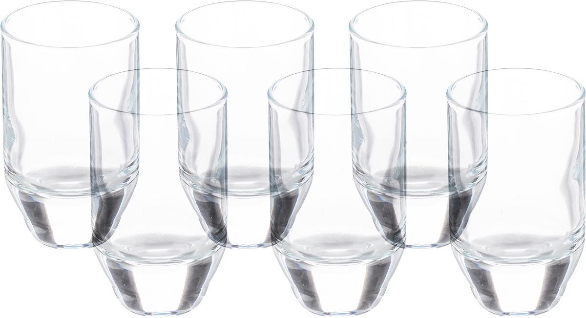 Стакан Pasabahce Буллет, 420102B, 55 мл, 6 шт стакан закал касабланка 6 шт 36 мл