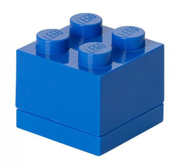 Система хранения 4 синий мини LEGO