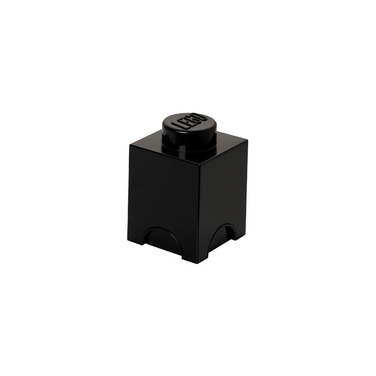 Система хранения 1 кубик LEGO черный