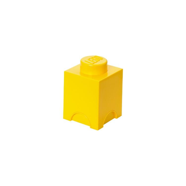 Система хранения 1 кубик LEGO желтый