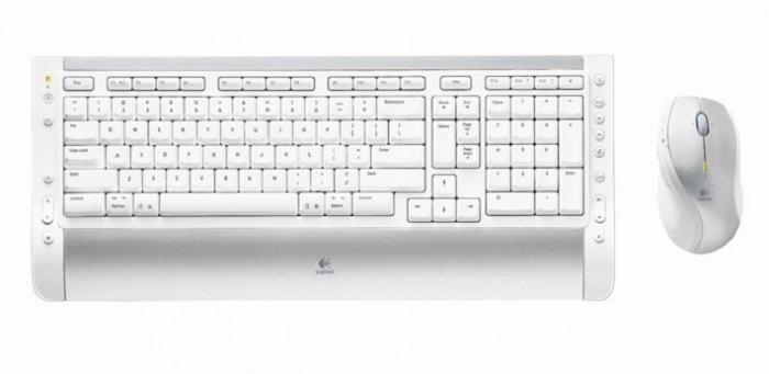 Комплект беспроводной Cordless Desktop S530 Mac, USB (с русским алфавитом)