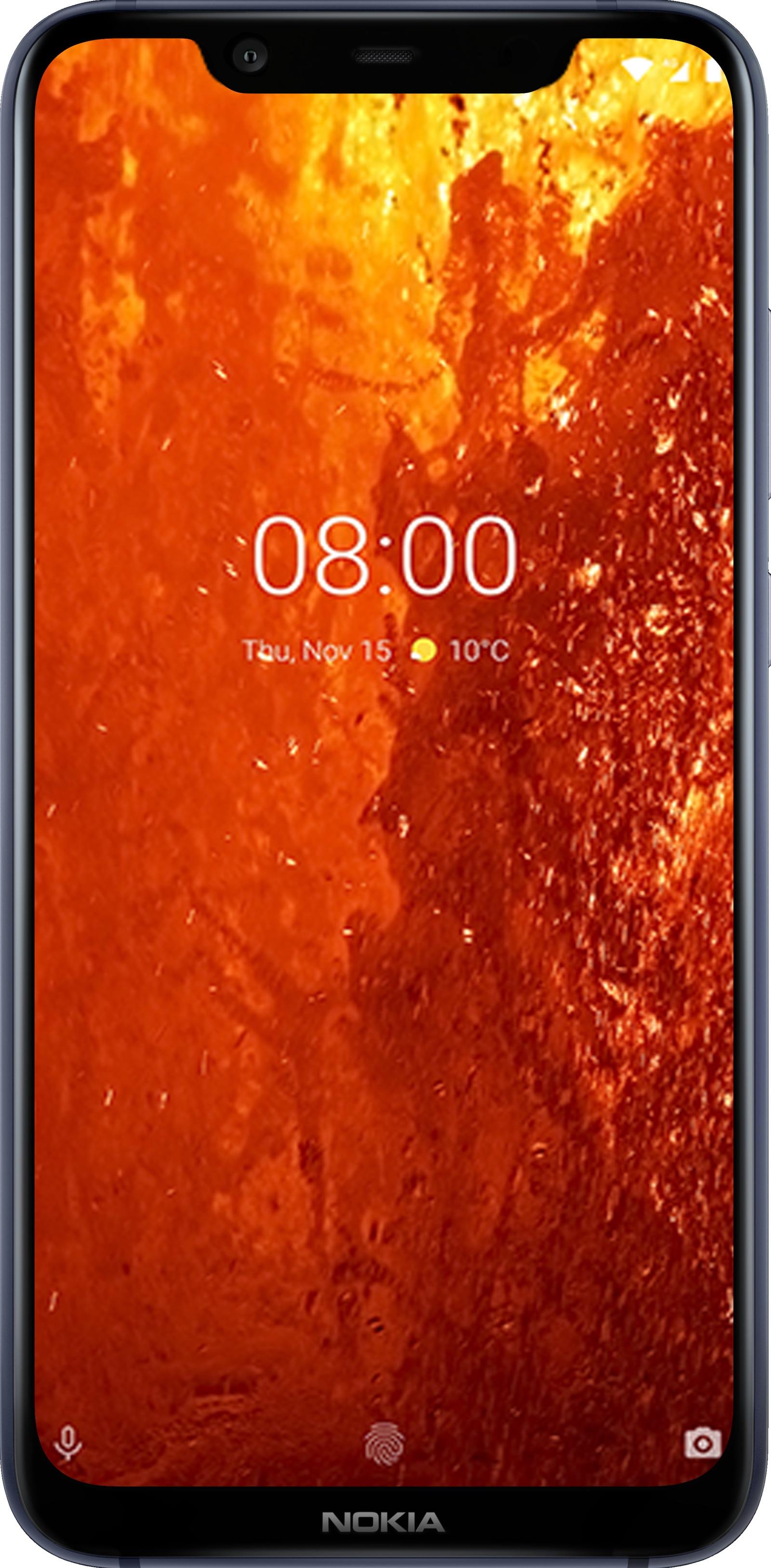 Смартфон Nokia 8.1 DS 4/64GB, синий