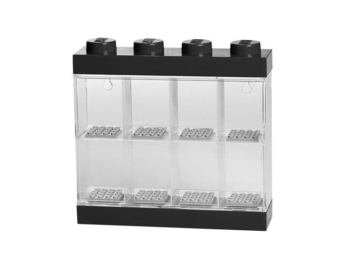 Дисплей для минифигурок 8 штук черный LEGO