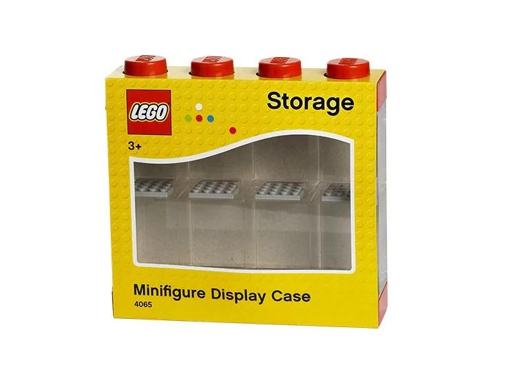 Дисплей для минифигурок 8 штук красный LEGO