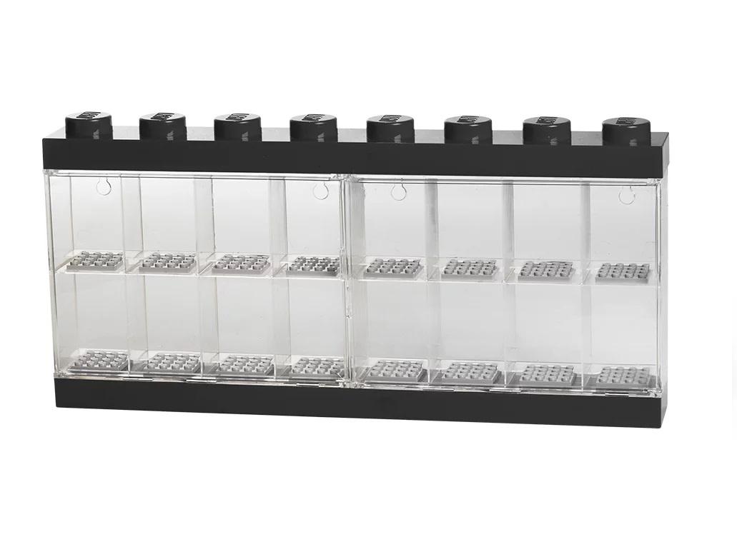 Дисплей для минифигурок 16 штук черный LEGO