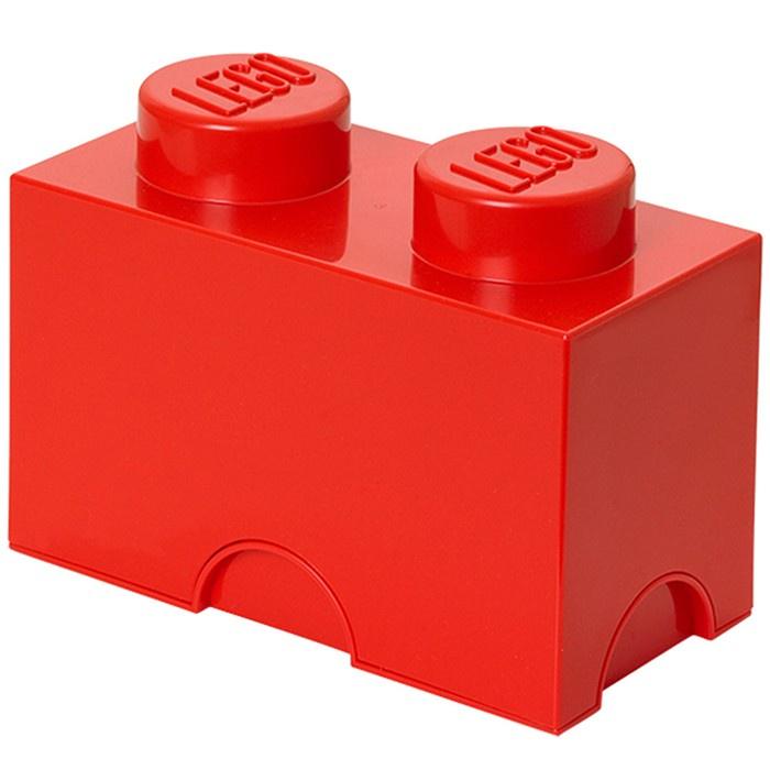 Система хранения 2 кубик LEGO красный