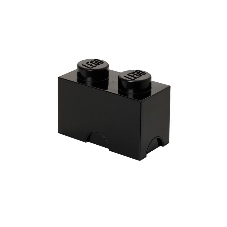 Система хранения 2 кубик LEGO черный