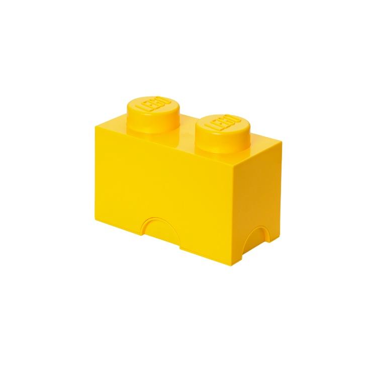 Система хранения 2 кубик LEGO желтый