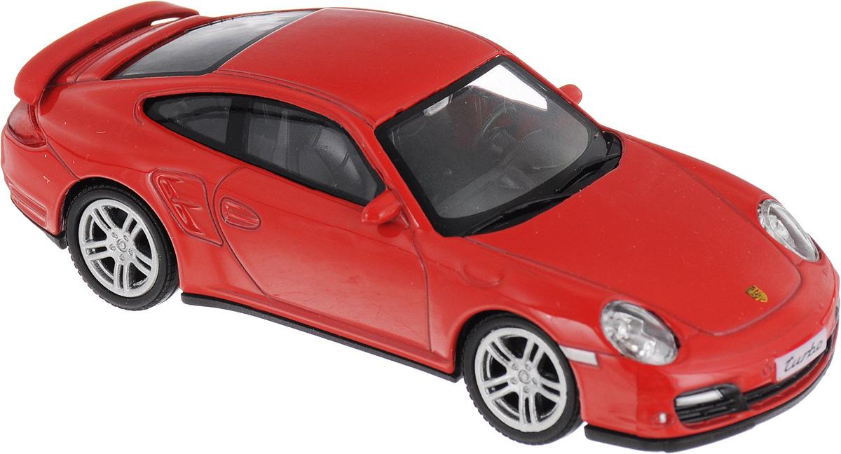 Машинка Uni-FortuneToys RMZ City Porsche Carrera 911, 1:43, 444010, цвет красный