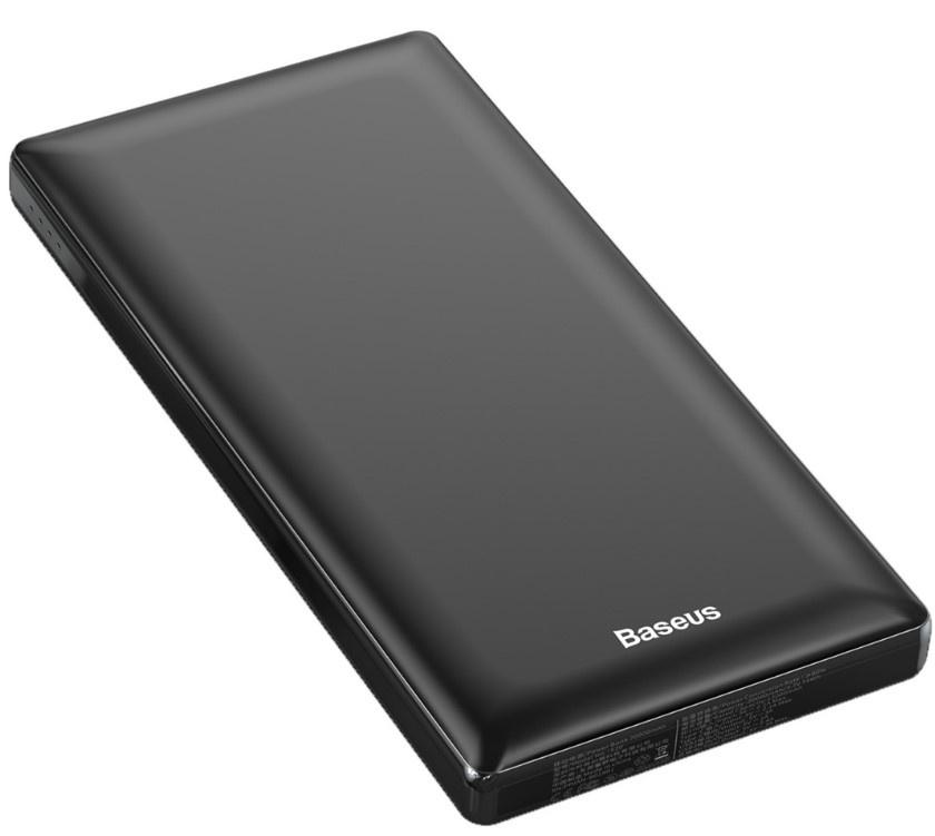 Аккумулятор внешний Baseus Mini JA Fast charge power bank 3A 20000mAh Black