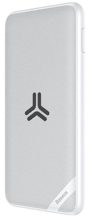 лучшая цена Аккумулятор внешний Baseus S10 Bracket 10W Wireless Charger Power bank 10000mAh 18W White