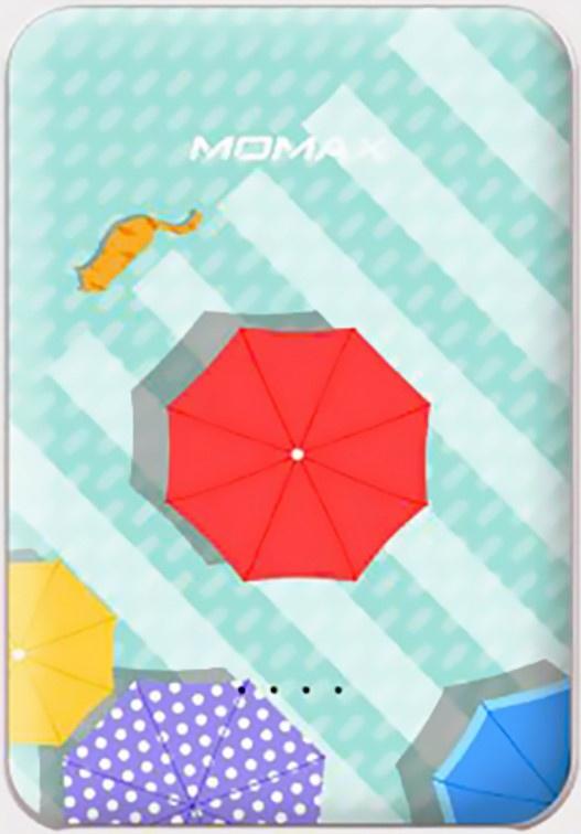 Фото - Внешний аккумулятор Momax Card2 5000mah parasol аккумулятор