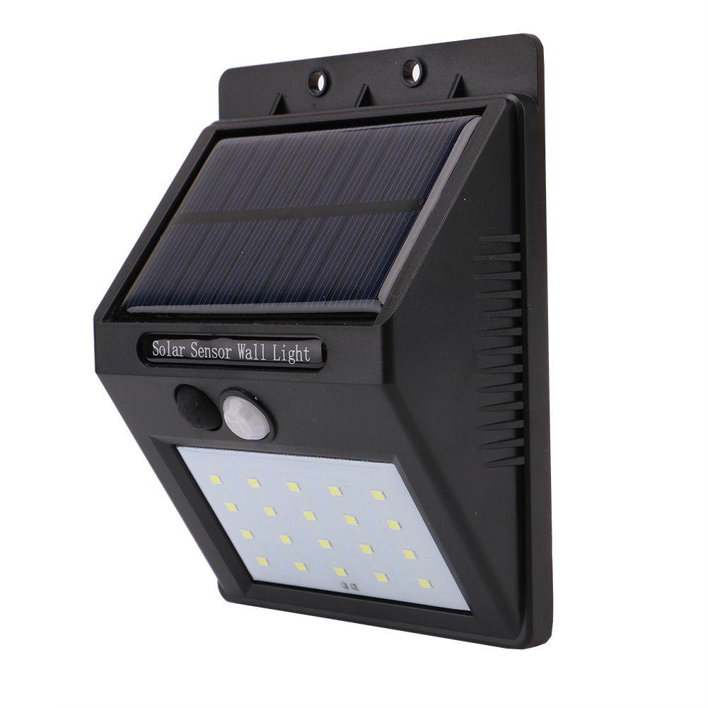 солнечный светильник с датчиком движения купить